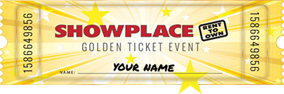 Merveilleux Rent Something. Get Your Golden Ticket. WIN IT FREE!