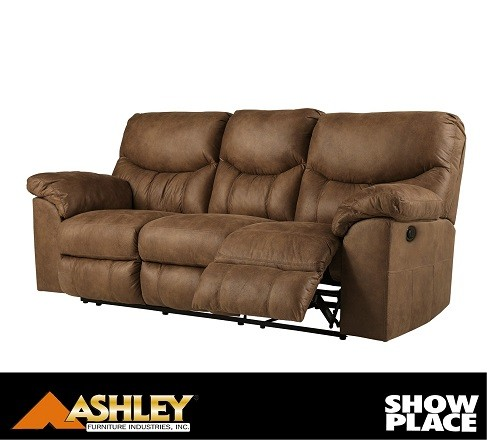 Power Reclining Sofa Showplace Rent To Own