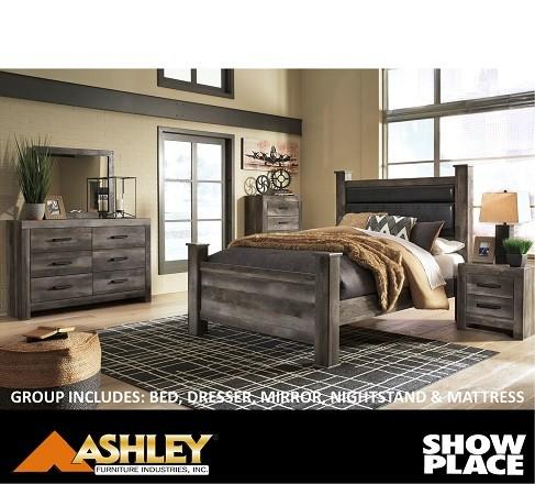 5 Piece Bedroom Bundle Showplace Rent To Own
