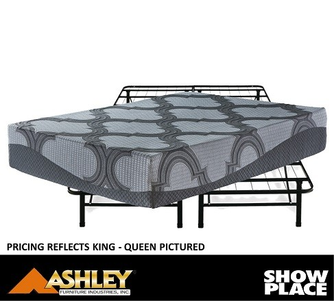 Showplace Rent To Own King Mattress with Base Model M62841+FRAME