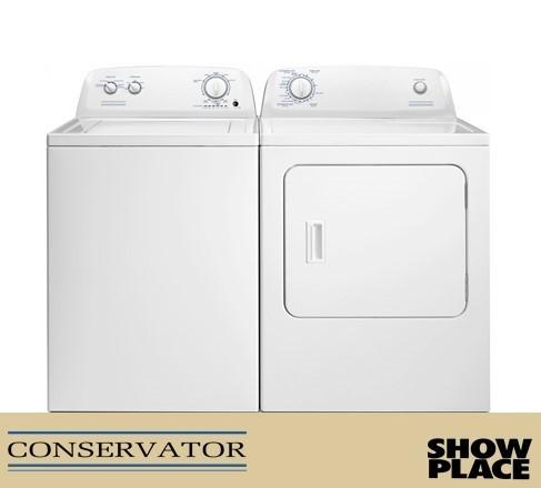 Showplace Rent To Own Laundry Pair Model VAW3584GW_VED6505GW
