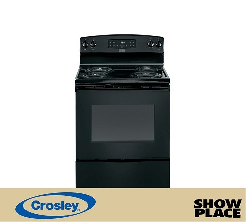 Showplace Rent To Own Coil Top Electric Range Model XB258DMBB