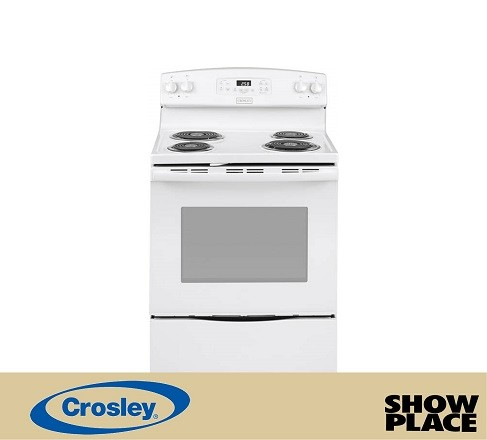 Showplace Rent To Own Coil Top Electric Range Model XB258DMWW