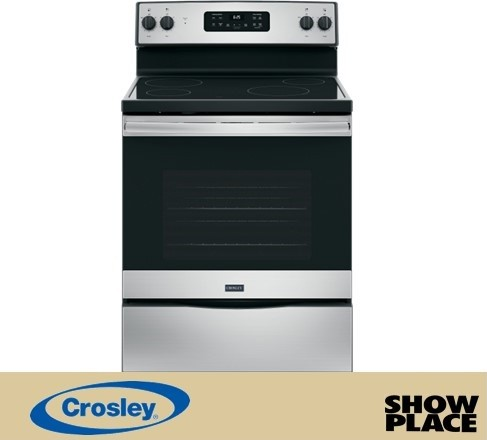 Showplace Rent To Own Smooth Top Electric Range Model XB625RKSS